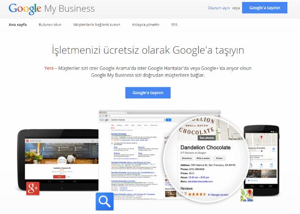 Google My Business Giriş Adresi