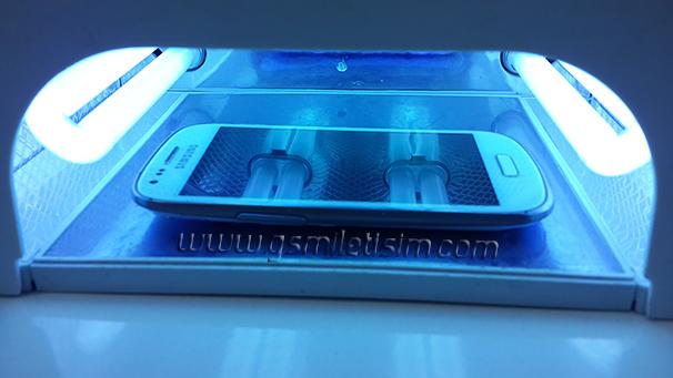 İşte O UV Işınları Yayan Makine