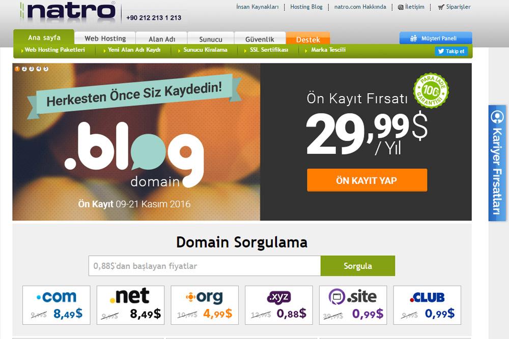 En İyi Hosting Firması NATRO: İyiki varsınız arkadaşlar!!!