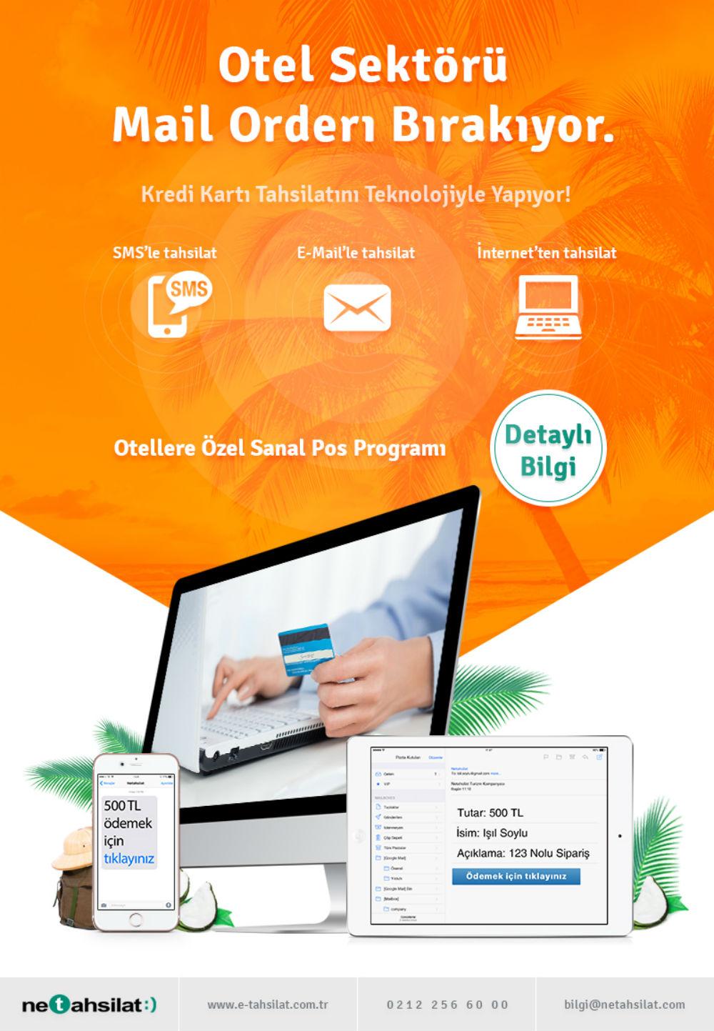 Turizm Sektörüne Özel Online Kredi Kartı Tahsilat Sistemi