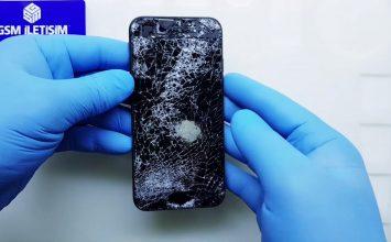 Telefonun İç Ekranının Kırılması