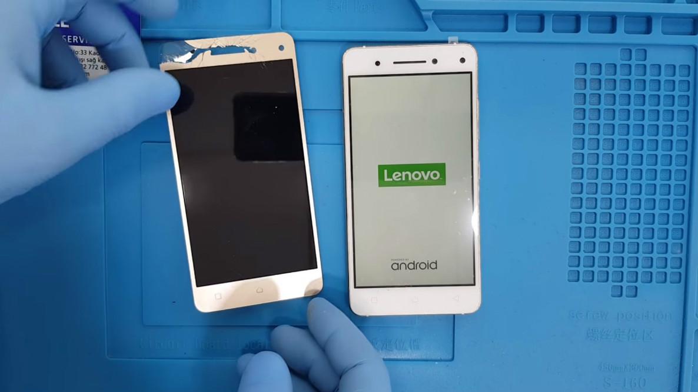 Lenovo Vibe S1 Ekran Değişimi