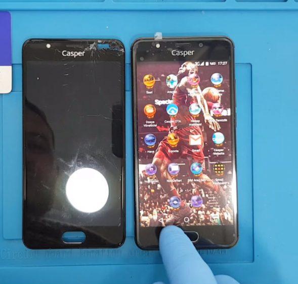 Casper Via M2 Ekran Değişimi