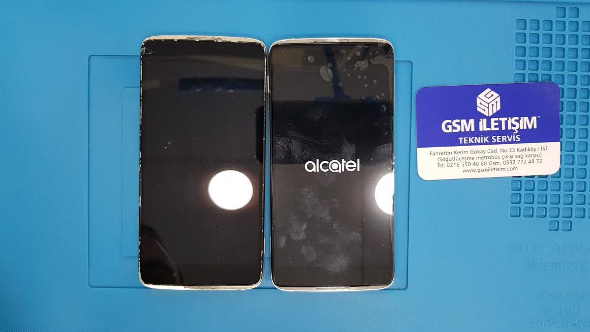 Alcatel idol 3 ekran değişimi nasıl yapılır