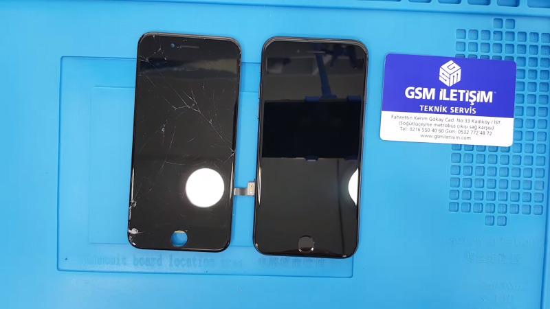 iPhone 8 Ekran Değişimi Öncesi ve Sonrası