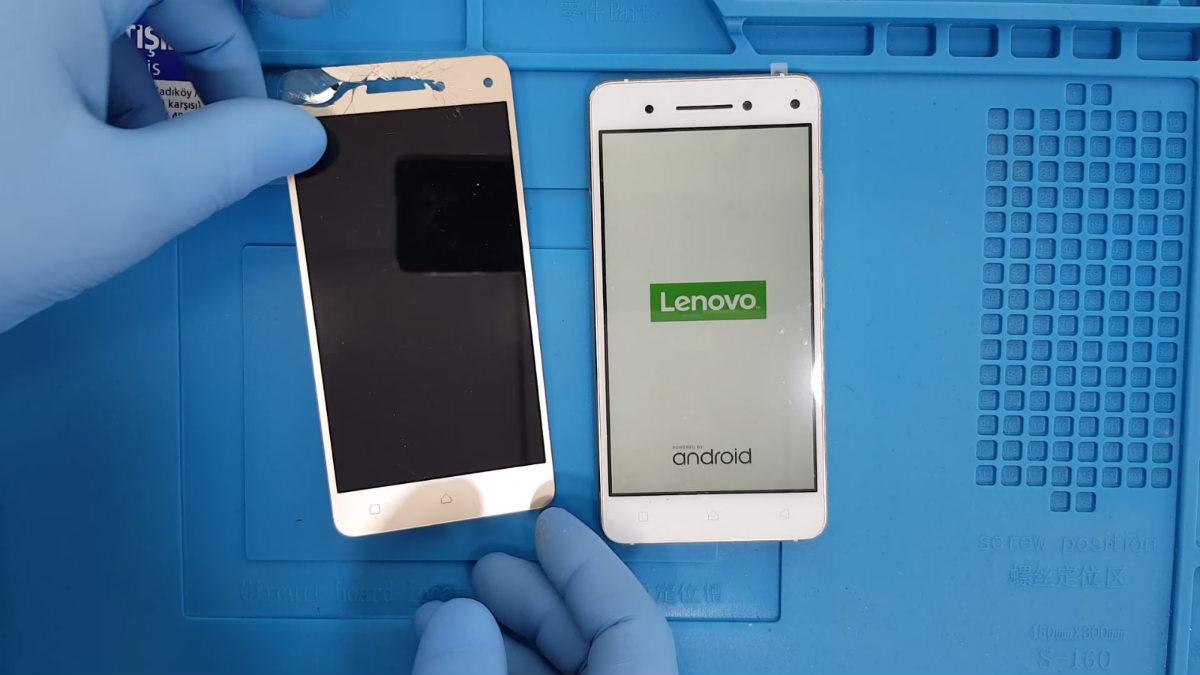 Lenovo K6 Note Ekran Değişimi Nasıl Yapılır