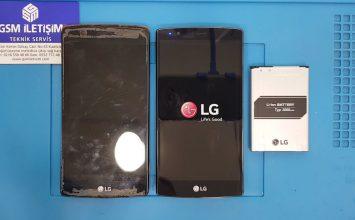 LG G4 batarya değişimi, şarj solmuyor sorunu