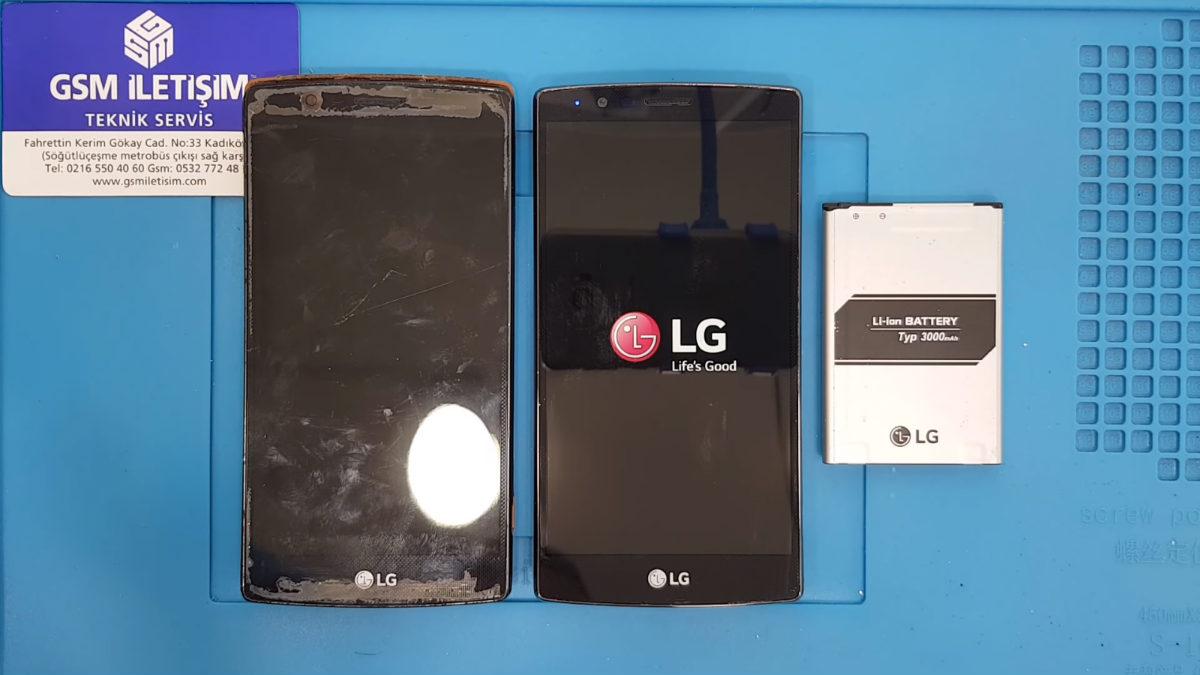 LG G4c Ekran Değişimi Teknik Servisi