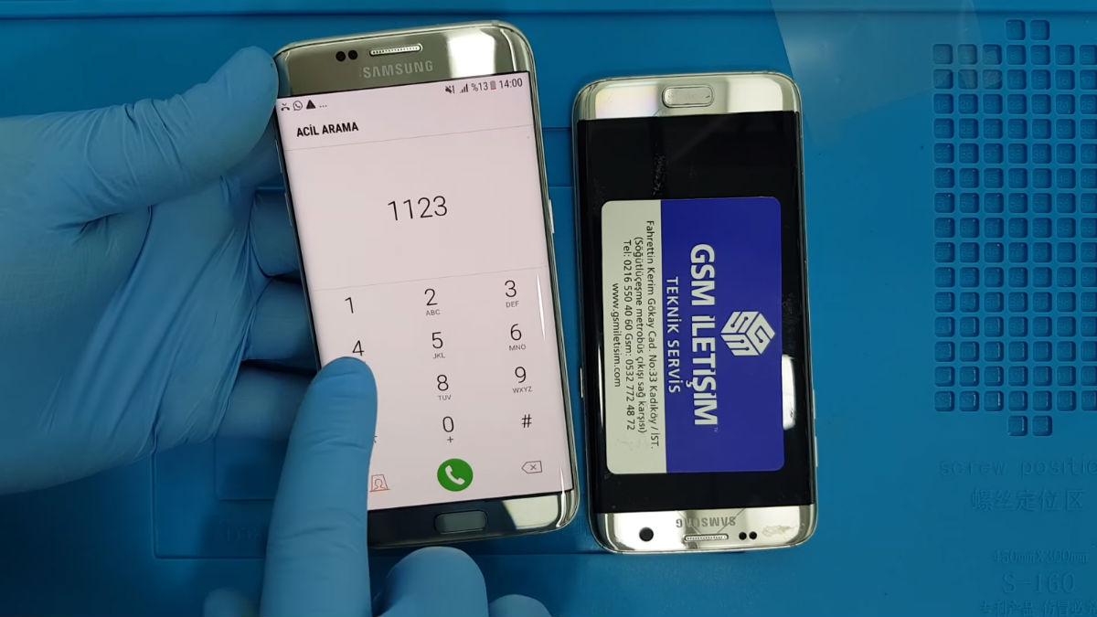 Samsung Galaxy S7 Edge Ekran Değişimi Nasıl Yapılır