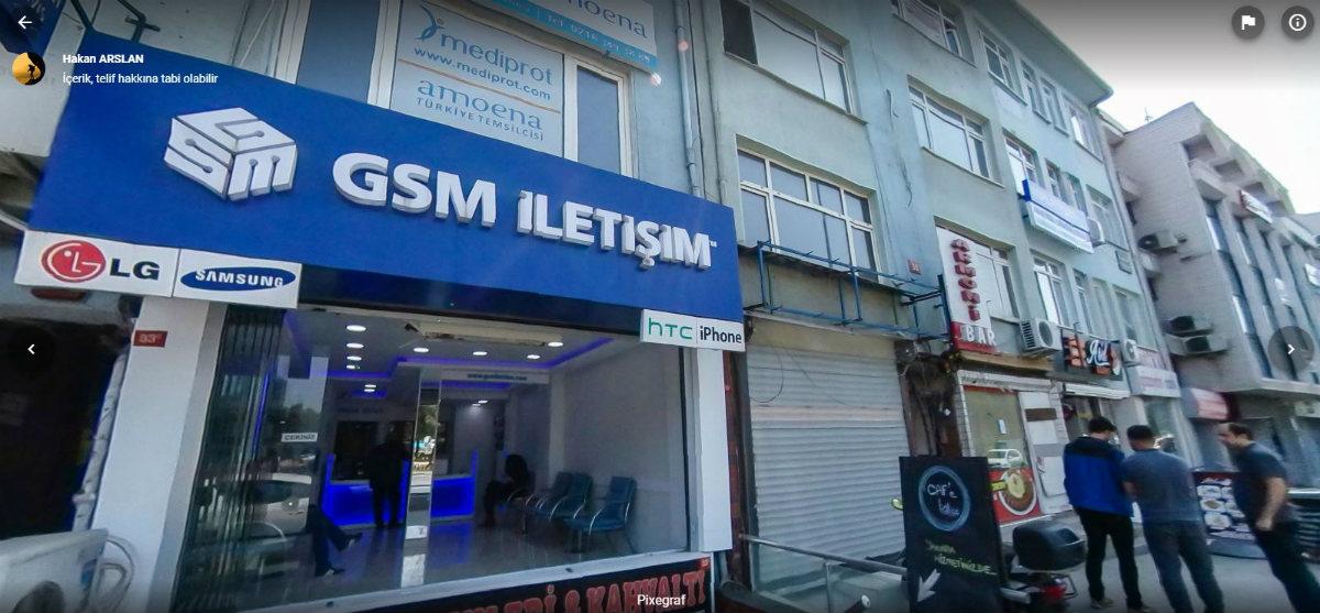 GSM İletişim 360 Derece Sanal Tur