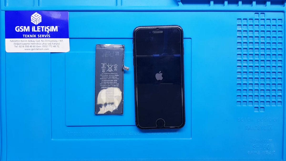 iPhone 7 Batarya (Pil) Değişimi