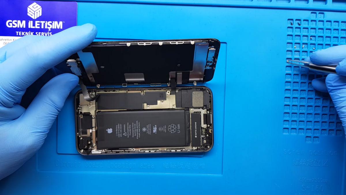 iPhone 8 batarya değişimi nasıl yapılır
