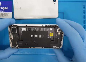 LG Q6 batarya değişimi