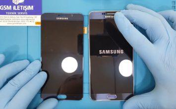 Samsung Galaxy Note 2 ekran değişimi