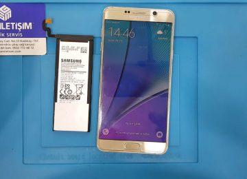 Samsung Galaxy Note 5 batarya değişimi