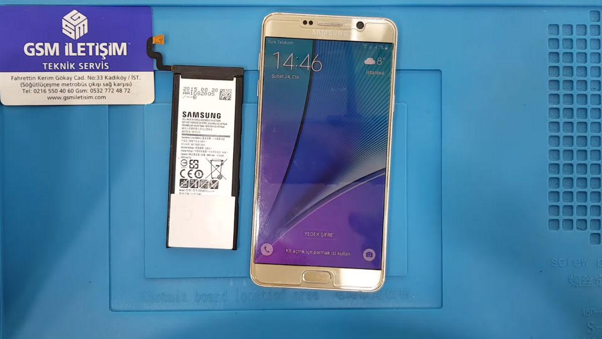Samsung Galaxy Note 5 batarya değişimi nasıl yapılır