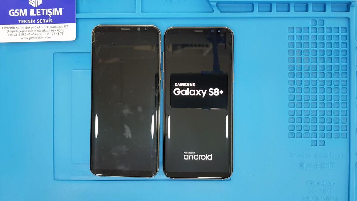 Samsung Galaxy S8 Plus Ekran Değişimi Nasıl Yapılı