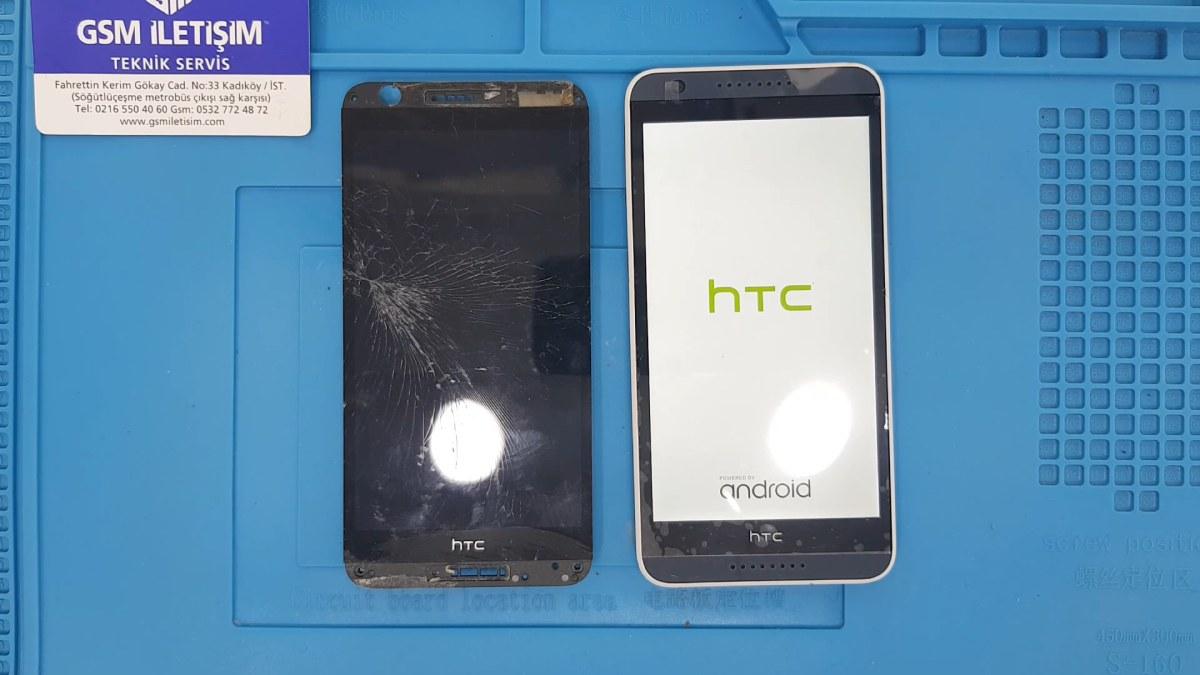 HTC Desire 828 Ekran Değişimi Nasıl Yapılır