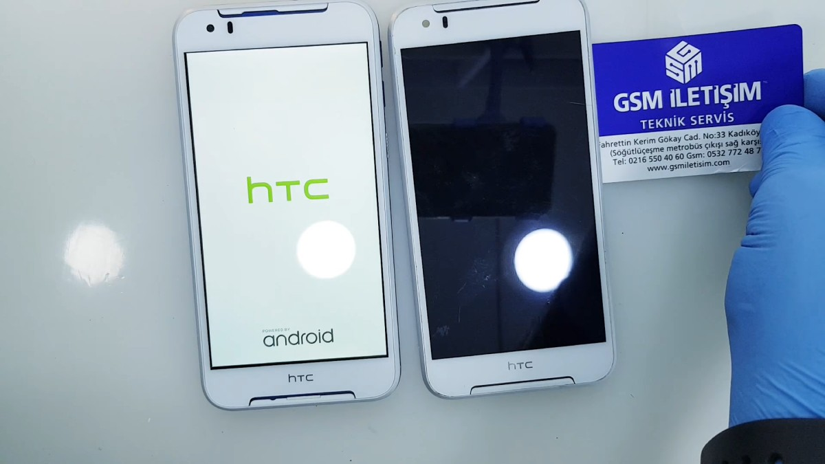 HTC Desire 830 Ekran Değişimi Nasıl Yapılır