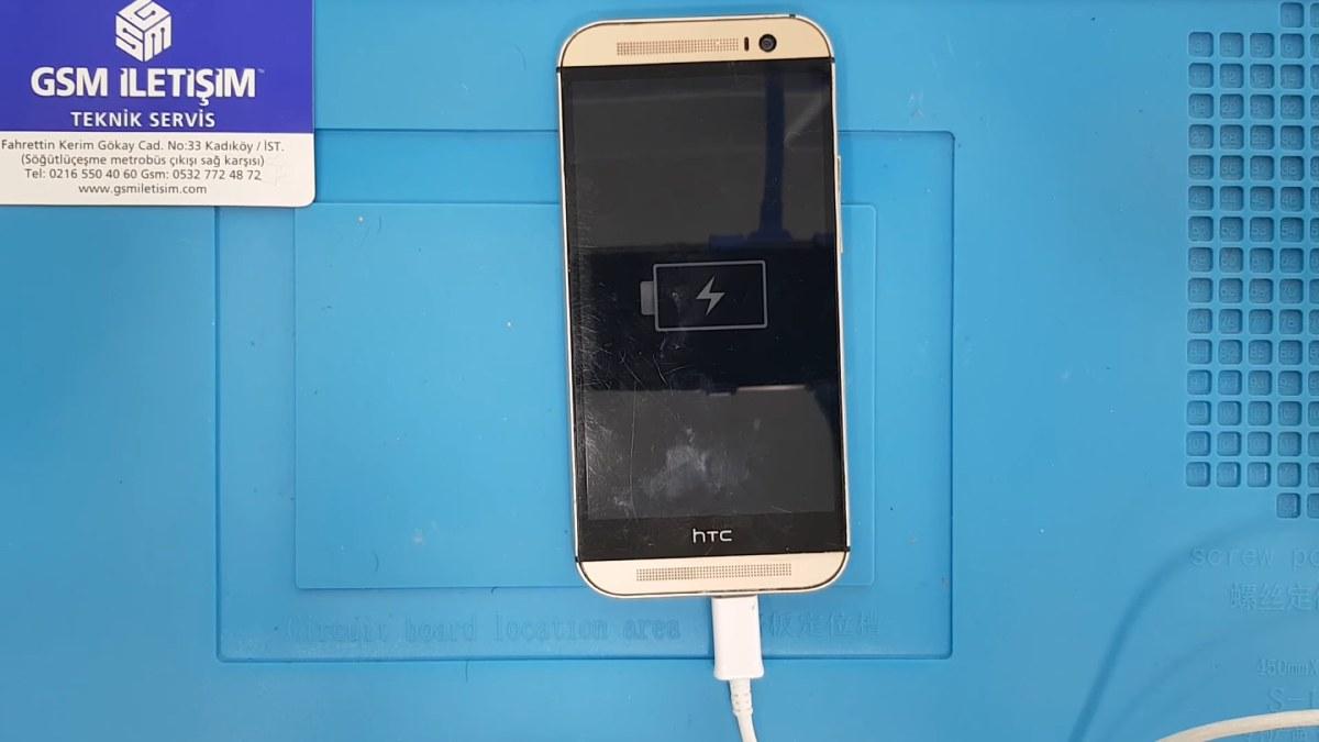 HTC Şarj Soketi Değişimi Nasıl Yapılır