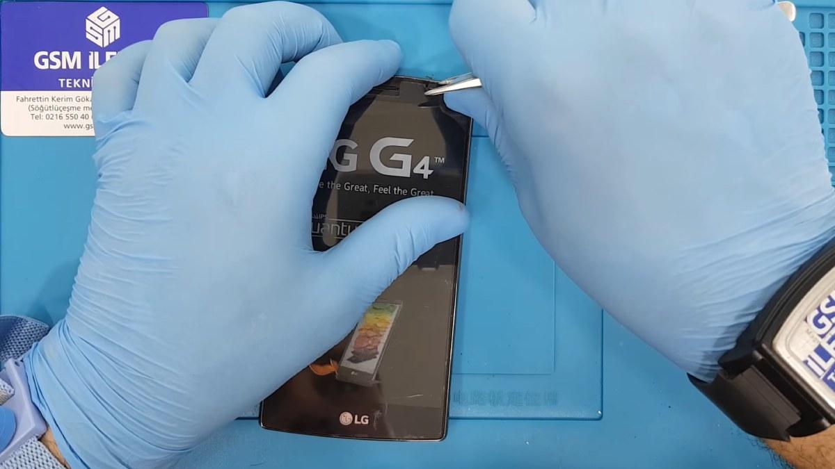LG G4 Stylus Ekran Değişimi Nasıl Yapılır