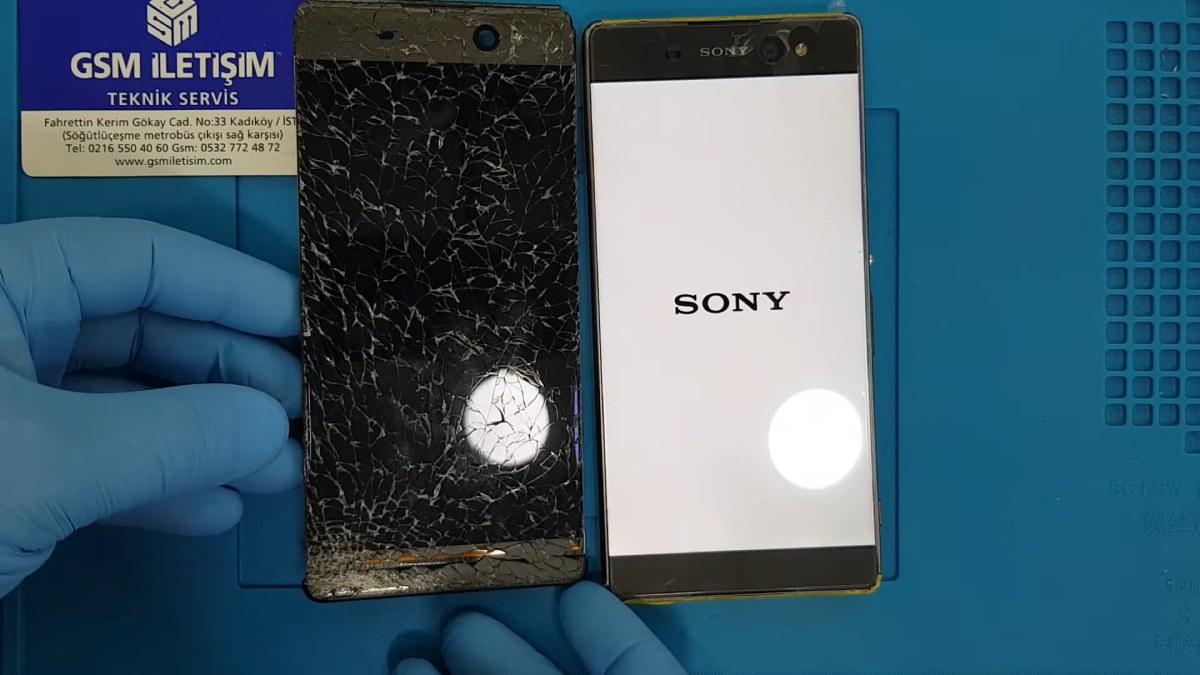Sony Xperia XA2 Ekran Değişimi Teknik Servisi