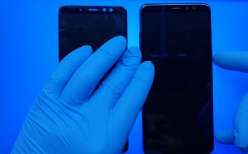 Samsung Galaxy J8 ekran değişimi