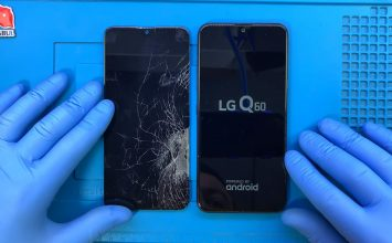 LG Q60 ekran değişimi