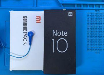 Xiaomi Mi Note 10 ekran değişimi