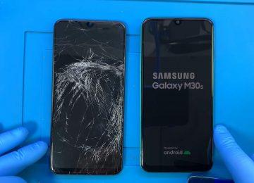 Samsung Galaxy M30s ekran değişimi