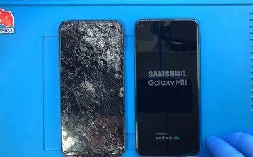 Samsung Galaxy M11 ekran değişimi